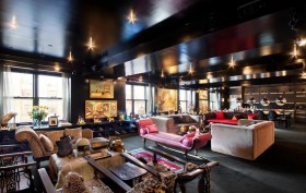 213 23rd Street, the Black Apartment, Stefan Boublil designed to look like Shanghai nightclub, Cindy Gallop