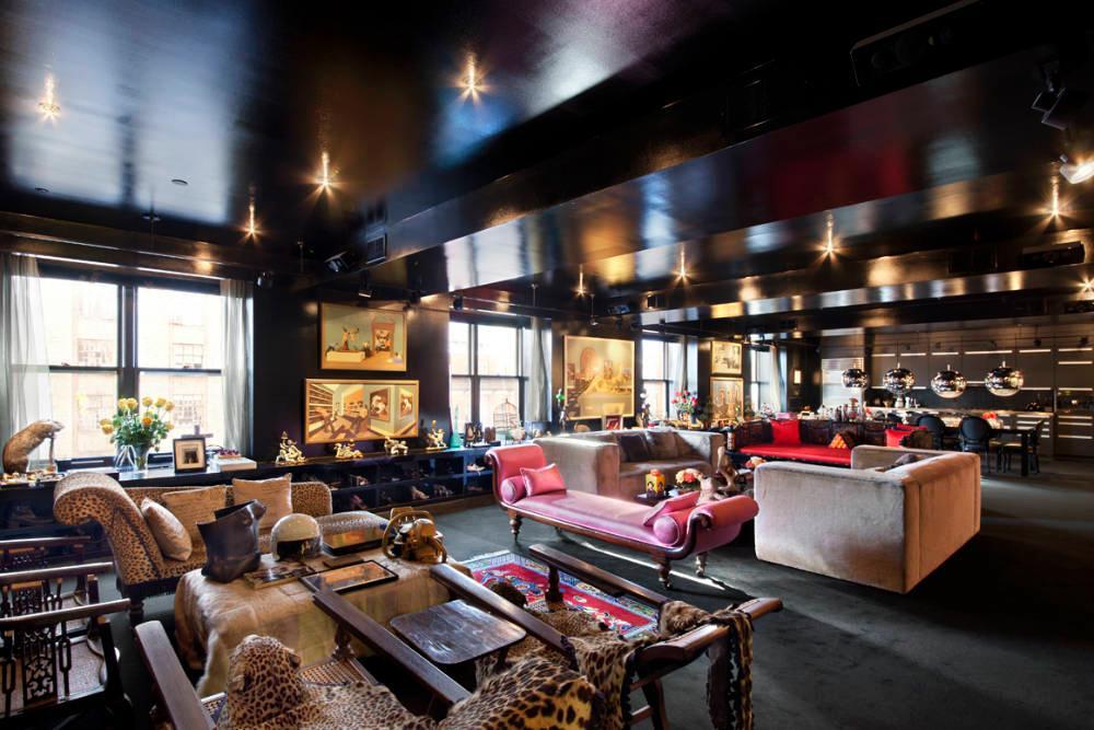 Cindy Gallop Puts Her Stefan Boublil Designed Black Apartment Back On The Market Asking 6m
