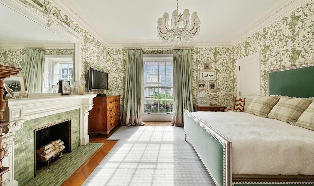 5 East 75th Street, historical limestone mansion, original millwork