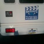 Film truck, film shoot