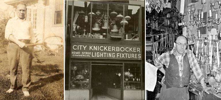 city knickerbocker lighting fixtures