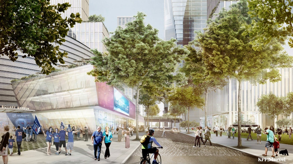 New Madison Square Garden, Kohn Pedersen Fox Associates