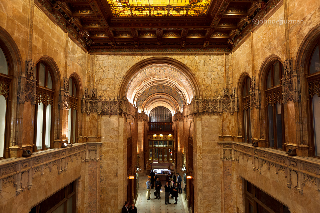 woolworth building interior