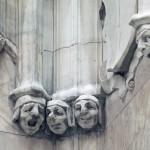 cass gilbert sculpture, cass gilbert woolworth building, cass gilbert sculptures, woolworth building sculptures, faces of the woolworth building