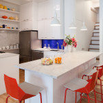 LEGO, I-Beam Design, pixilated renovation, Barcelona Chair, colorful renovation, NYC loft renovation, Sean Kenney,