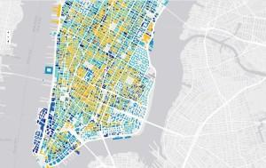 Urban Layers, Morphocode, NYC mapping tool