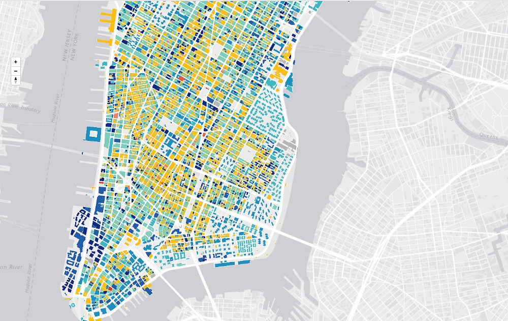 Urban Layers, Morphocode, NYC mapping tool