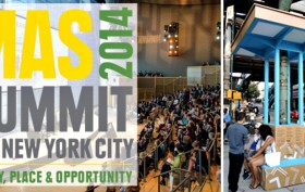 Municipal Art Society, 2014 Summit for NYC, Jane Jacobs Forum: Projects That Ignite, Boogie Down Booth