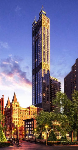 GFI Development, Gerner Kronick, Park Row, J&R Music, Temple Court Building, hotel renovations, new york architecture