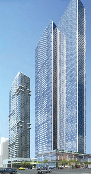 Moinian Group, West 42nd, Goldstein Hill, Costas Kondylis, Circle Line, Silver Towers,