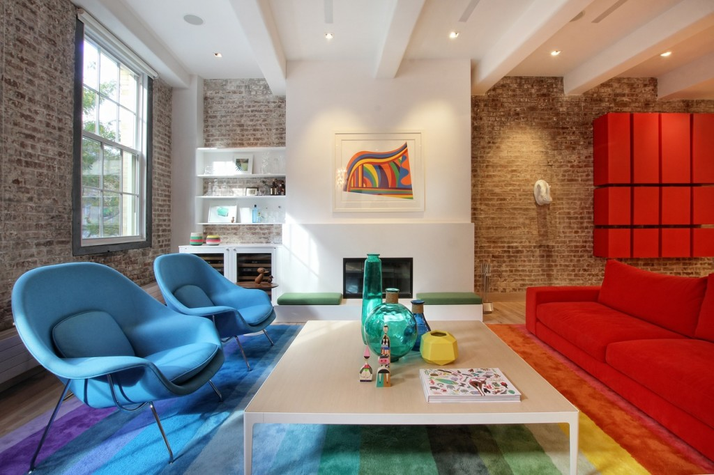 Ghislaine vi as colorful and eclectic design seamlessly Together interiors