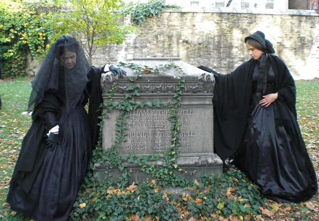 Seabury Tredwell, funeral reenactment, New York City Marble Cemetery, Merchant's House Museum