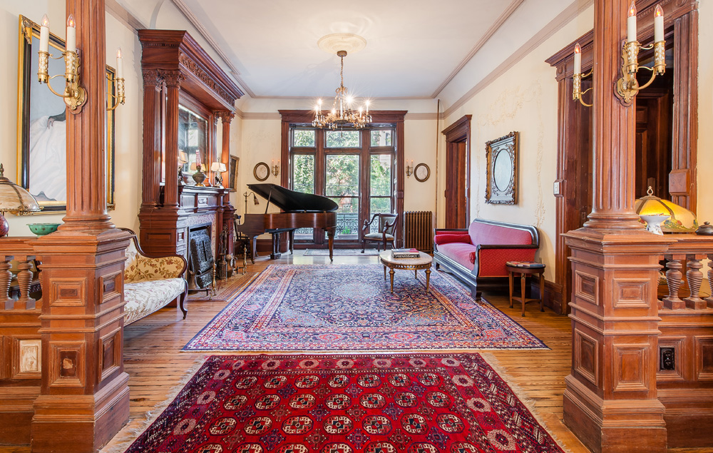 Inside The Historic 6m Bed Stuy Mansion With A
