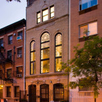Cool dwellings, Unusual NYC homes, Converted synagogue, 8th street shul, East Village, townhouse