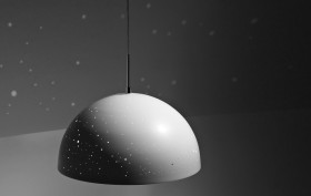 Planetarium pendant light, star light fixture, constellation