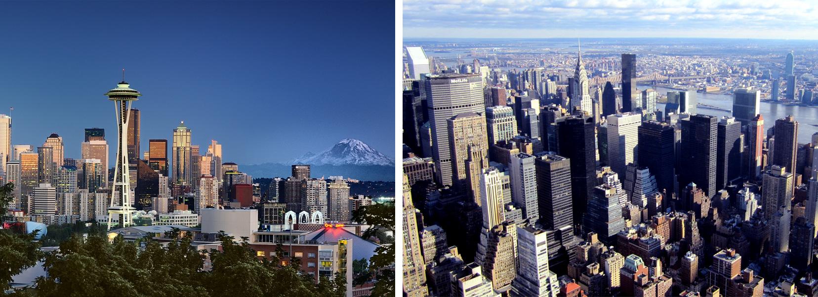 seattle versus new-york
