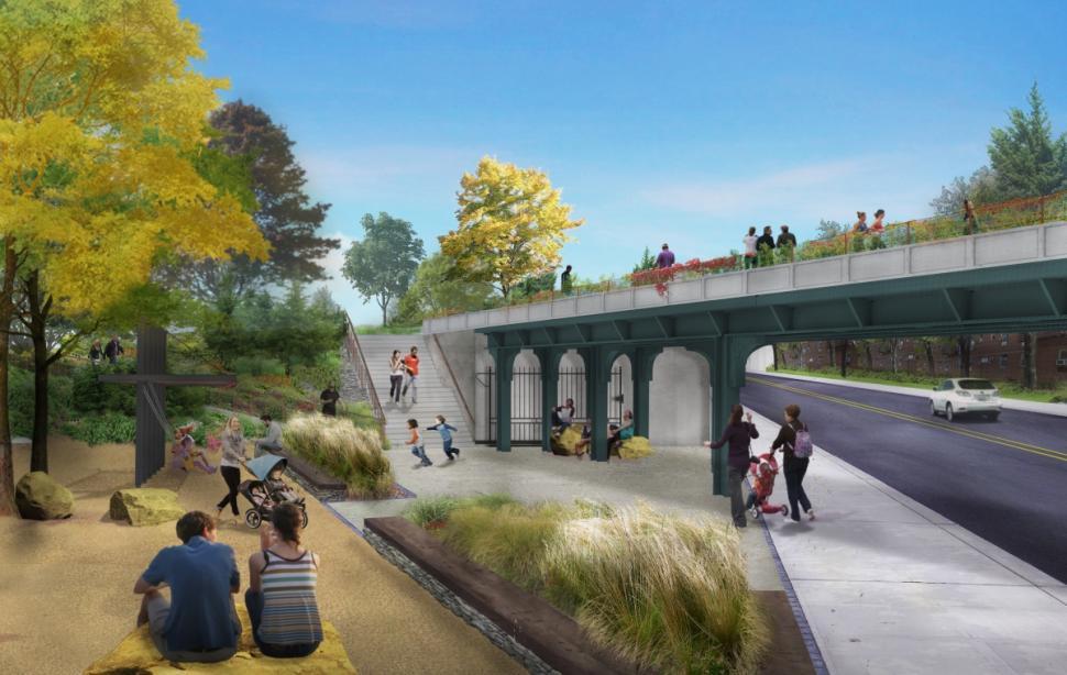 WXY Studio Architecture + Urban Design, dlandstudio, QueensWay, Friends of the QueensWay