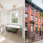 102 gates avenue renovated, renovated clinton hill townhouse, renovated historic home, brooklyn historic home, renovated brooklyn home