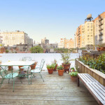 316 West 82nd Street, Riverside Park, old-world touches, roof deck