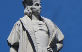 Columbus Circle, Christopher Columbus, Columbus monuments NYC
