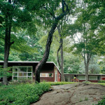 upstate new york architecture, mid century modern home