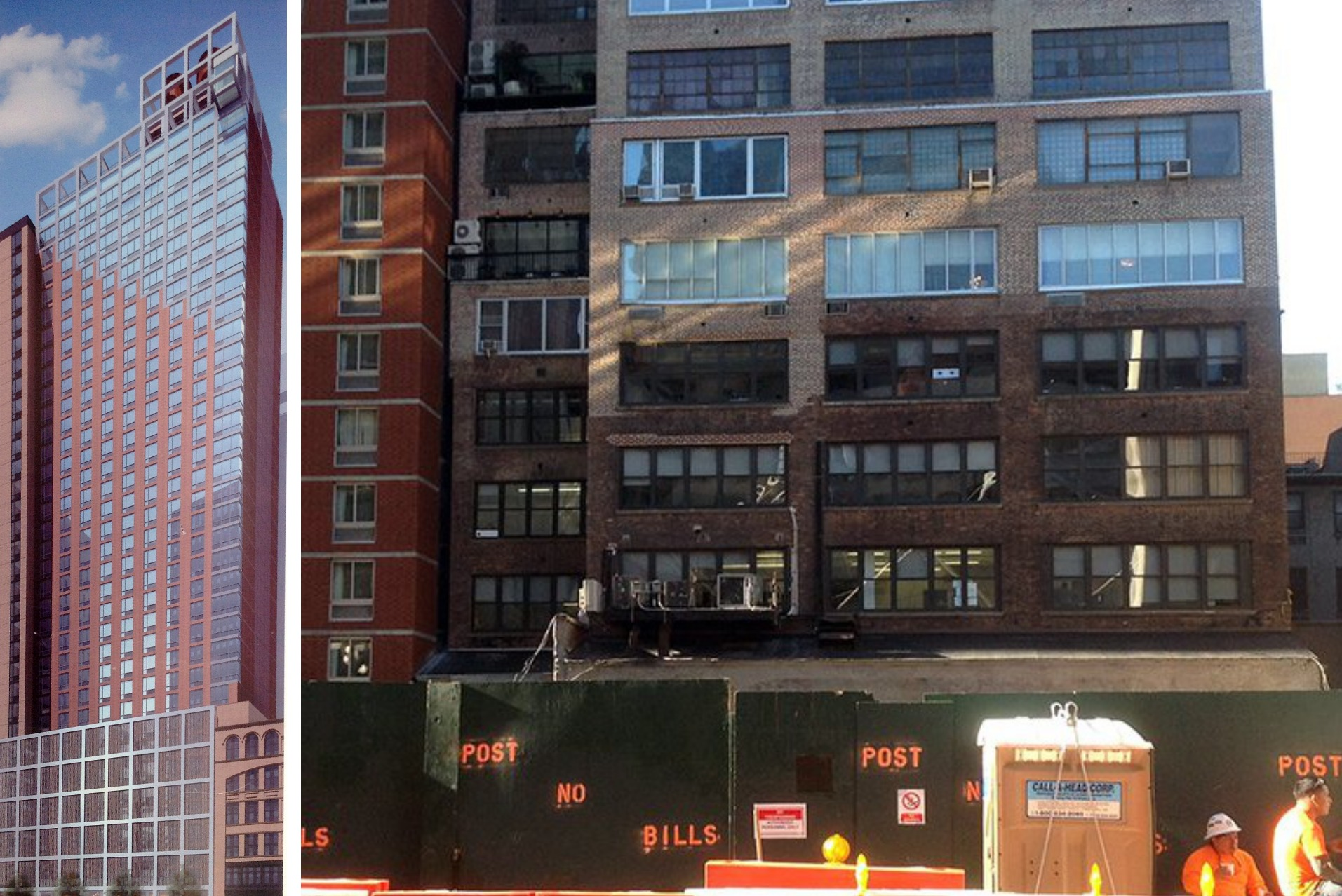 story doubletree hotel by gene kaufman coming to midtown west 6sqft