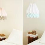 paper pendant light, origami light fixture, paper design