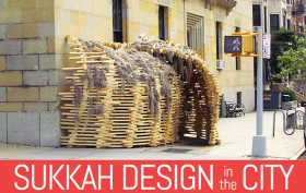 Sukkot Architecture, sukkah architecture, jewish architecture, where to celebrate sukkot nyc, sukkah design