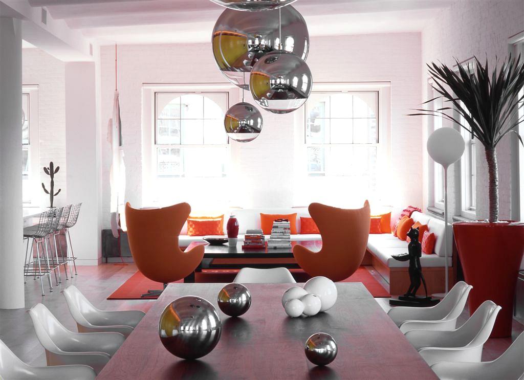Ghislaine Vinas Brings A Whimsical Edge To A Hip Tribeca Loft 6sqft