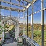 1158 Fifth Avenue #PH, glass conservatory and rooftop terrace, solarium, Pamela and Richard Scurry