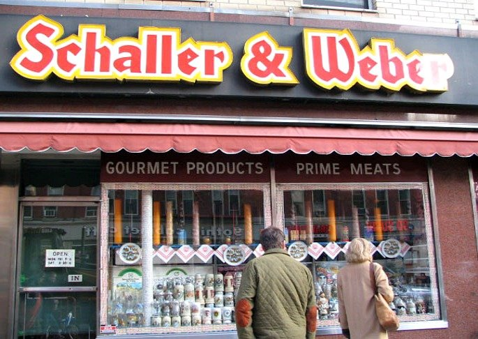Schaller and Weber, Germantown, Yorkville