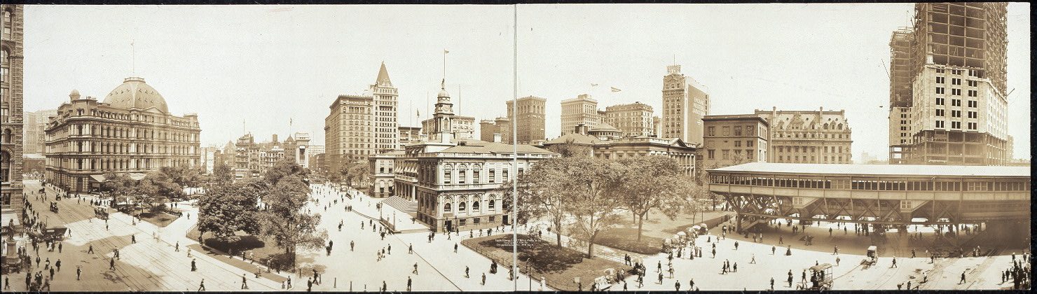 City Hall Panorama-BMT Station-NYC
