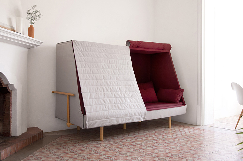 Goula Figuera Designs Hybrid Bed Sofa Cabin To Recapture The