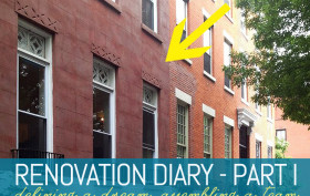 Renovation diary, townhouse renovations, brownstone renovations, brooklyn brownstone, clinton hill, historic home, historic district, 123 Gates Avenue, choosing an architect, choosing a contractor, remodeling a home, brooklyn interiors, how to renovate home