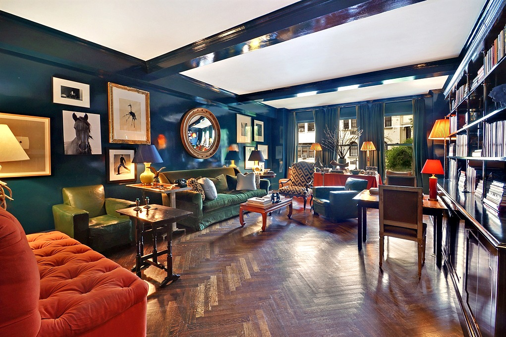 Miles Redd luxurious & colorful upper west side apartment designedmiles