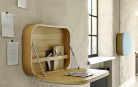 transforming shelf, desk-shelf