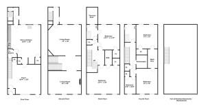 123 Gates, floor plan, renovation diary, townhouse, brownstone, clinton hill