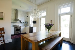 99 Gates, Elizabeth Roberts, townhouse, brownstone, interiors, clinton hill, brooklyn