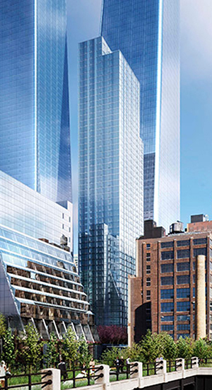 Brookfield, Hudson Yards, Manhattan West, High Line,