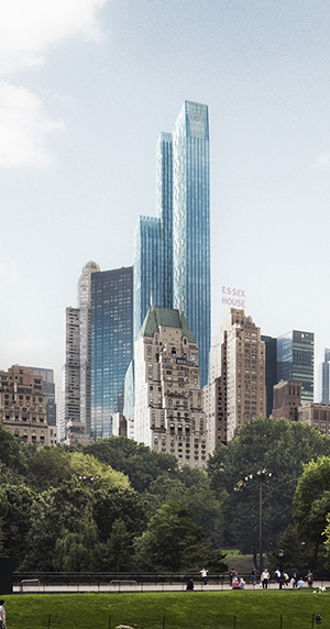 One57, Portzamparc, Extell, Central Park, Supertall, billionaire, tower, 57th Street, expensive, apartments, Midtown, Carnegie Hall