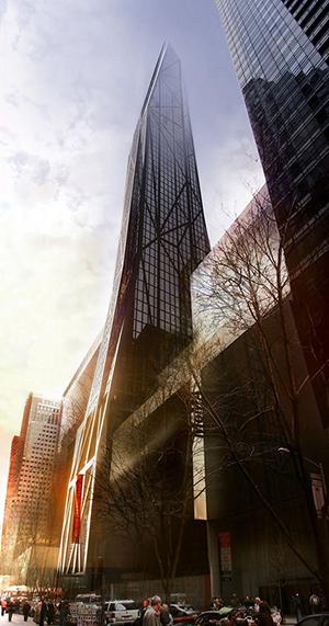 Moma Tower, Jean Nouvel, Torre Verre, Museum of Modern Art, supertall, skyscraper, Manhattan, Central Park