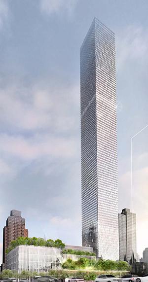 Silverstein, Mecedes, 42nd, Port Authority, Manhattan, supertall tower, Far West Side, Hudson Yards, tower, tallest, highest