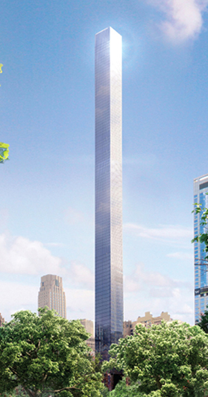 Shvo, tower, nyc, 22 Thames, Vinoly, WTC, Manhattan