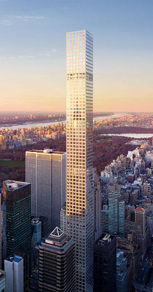 432 Park Avenue, dbox, Rafael Vinoly, Manhattan, Central Park