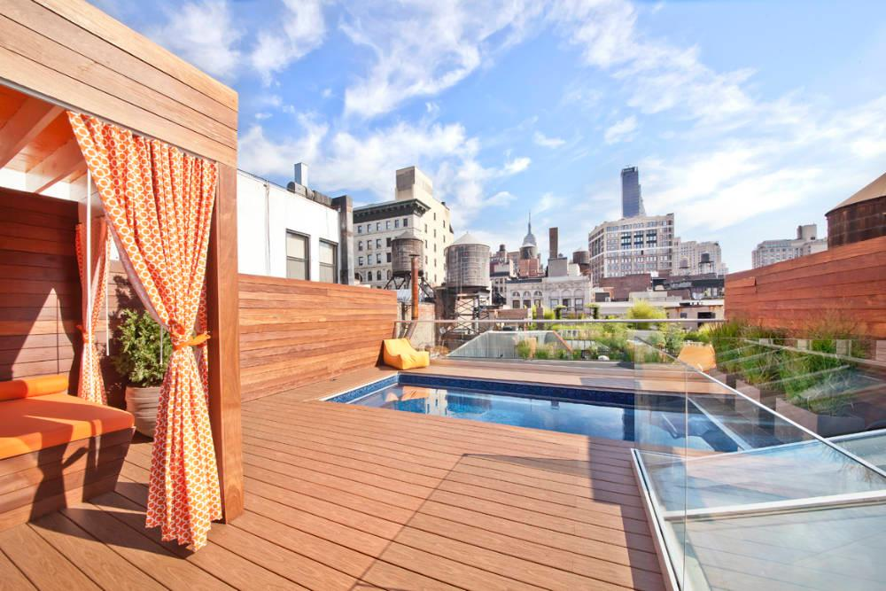 Enjoy Your Own Private Rooftop Pool In The Heart Of The City For 40k A Month 6sqft