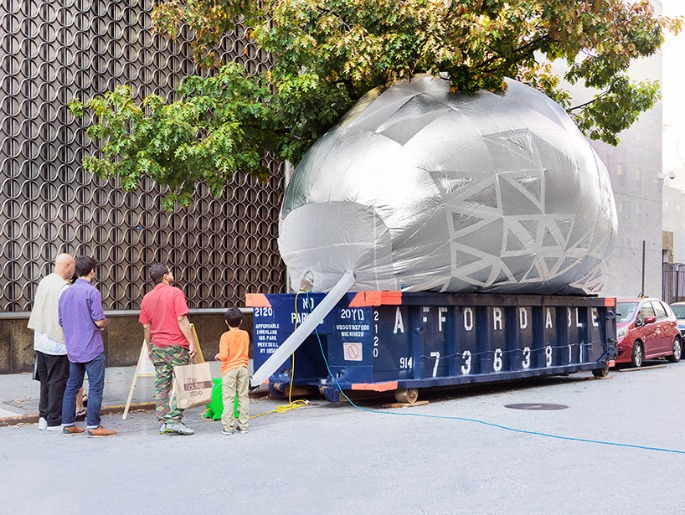 Inflatable Dumpster
