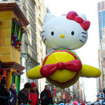 macys thanksgiving day parade, hello kitty