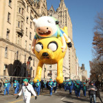 macys thanksgiving day parade, adventure time's jake and finn