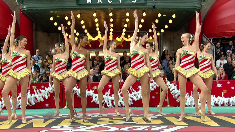 macys thanksgiving day parade, rockettes