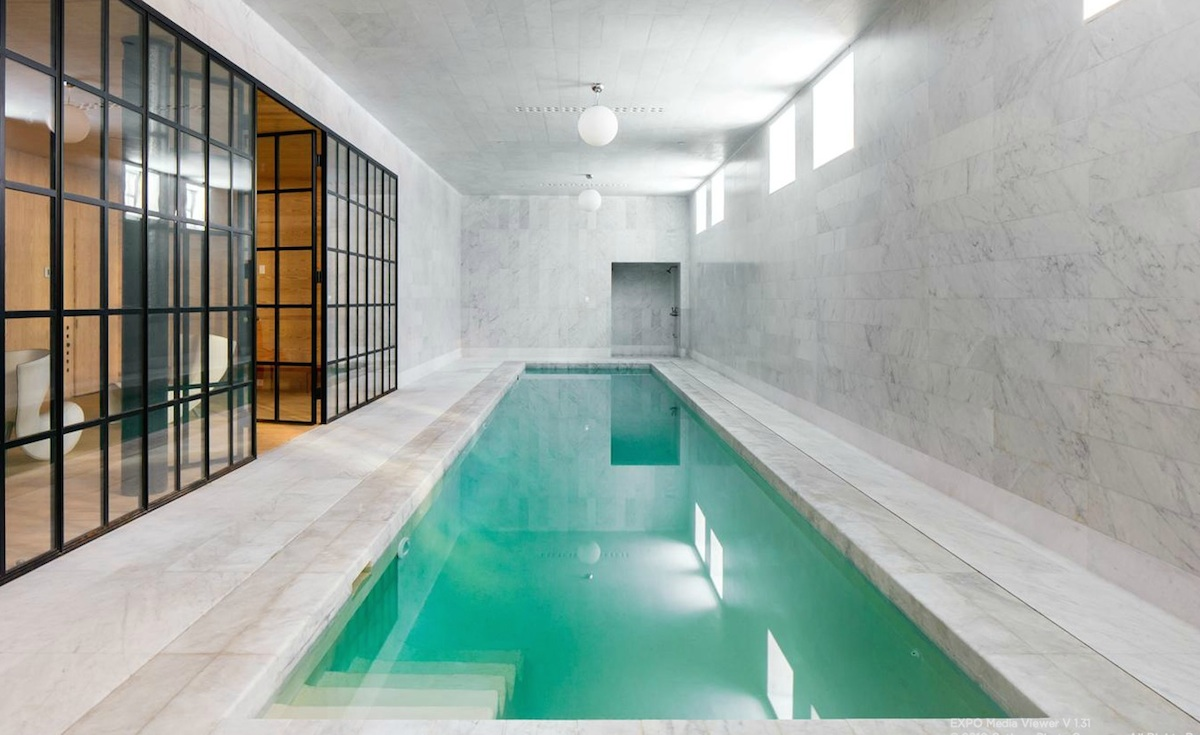 Channel Your Inner Olympian in the Marble House\'s Lap Pool for ...